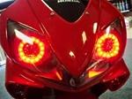 Sportbike Motorcycle LED Halos