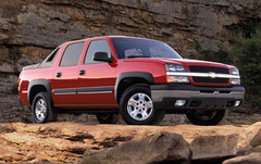 Chevy Avalanche w/o cladding