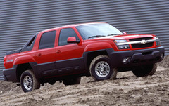 Chevy Avalanche w/ cladding