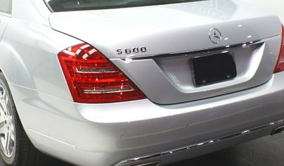 Mercedes Exterior Lighting