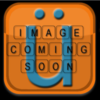 Handkraftd 2014+ Corvette C7 D Shaped Steering Wheel - Alcantara w/Red Stitch