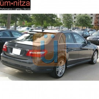 Fits 10-16 Benz E-Class W212 Sedan OE Factory Roof Spoiler Carbon Fiber CF