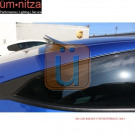 Fit 16-18 Honda Civic X 10th Gen Coupe V Style Carbon Fiber CF Roof Spoiler Wing