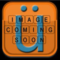 Fits 11-16 F10 5 Series Rear Bumper Lip Diffuser Spoiler 7 Fin Matte Black ABS