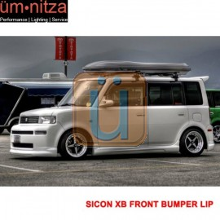 Fits 03-07 Scion xB Front Bumper Lip Diffuser Spoiler PU K-Style Body Kit