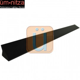 Fits 00-07 Ford Mondeo MK3 V6 VRS Style Roof Spoiler Unpainted Black - PUF