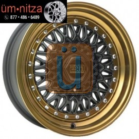 ESM 15X8  002R WHEELS 9X100 +15 MATTE BLACK RIM FITS MAZDA MIATA HONDA CIVIC CRX