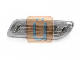 1998-2002 Mercedes CLK Class W208 DEPO Light Bar LED Clear or Smoke Front Bumper Side Marker Light