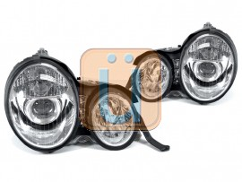 1996-1999 Mercedes E Class W210 DEPO Projector Headlight With Optional Xenon HID