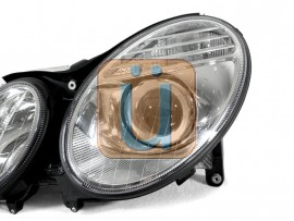 2003-2006 Mercedes E Class W211 DEPO Halogen Model Projector Headlight With Optional Xenon