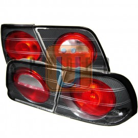 1995-1996 Nissan Maxima Chrome Housing Tail Lights
