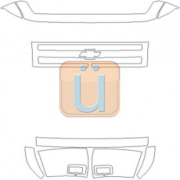 Chevy Silverado (07-  ) Headlight Covers