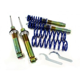 97-03 Fit BMW E39 5-SERIES SEDAN RSK STREET ADJUSTABLE COILOVER KIT - BLUE