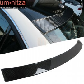 Fits 08-14 Benz C-Class W204 OE Factory Carbon Fiber (CF) Roof Spoiler Wing
