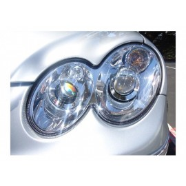 2003-2009 Mercedes CLK Class W209 DEPO Quad Projector Headlight With Optional Xenon HID