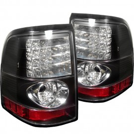 2002-2005 Ford Explorer Black LED Altezza Tail Lights