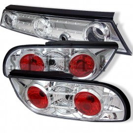 1989-1994 Nissan 240SX Hatchback Chrome Housing Tail Lights