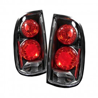 2000-2002 Toyota Tacoma Black Housing Tail Lights