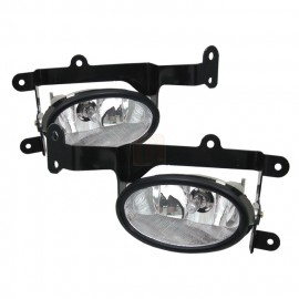 2006-2008 Honda Civic 2 Door Clear Fog Lights Kit