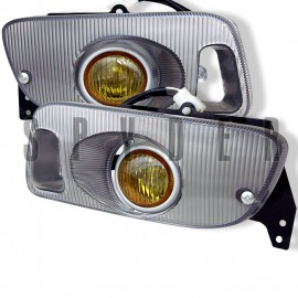 1992-1995 Honda Civic 2/3 Door Yellow Fog Lights Kit
