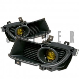2004-2006 Mitsubishi Lancer Yellow Fog Lights Kit