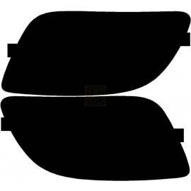 Kia Rio Sedan (07-  ) Tail Light Covers