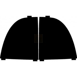 Saab 9-7x (05-  ) Tail Light Covers