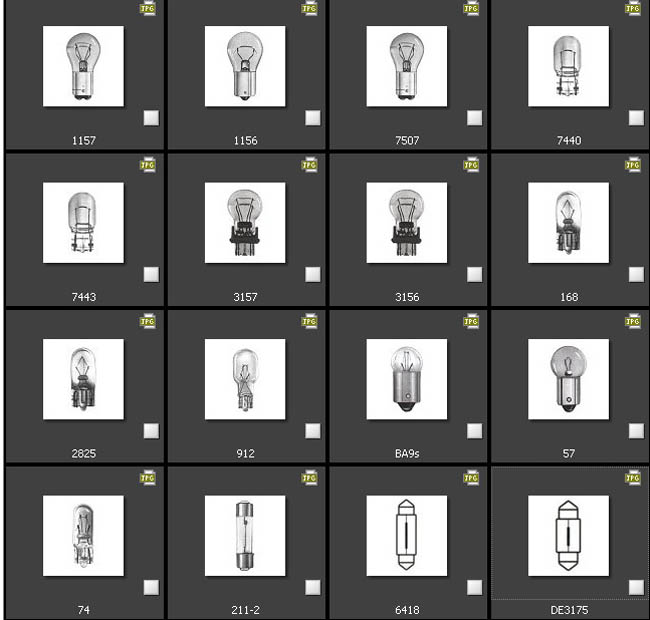 Sylvania Automotive Bulb Guide >> Tutorials